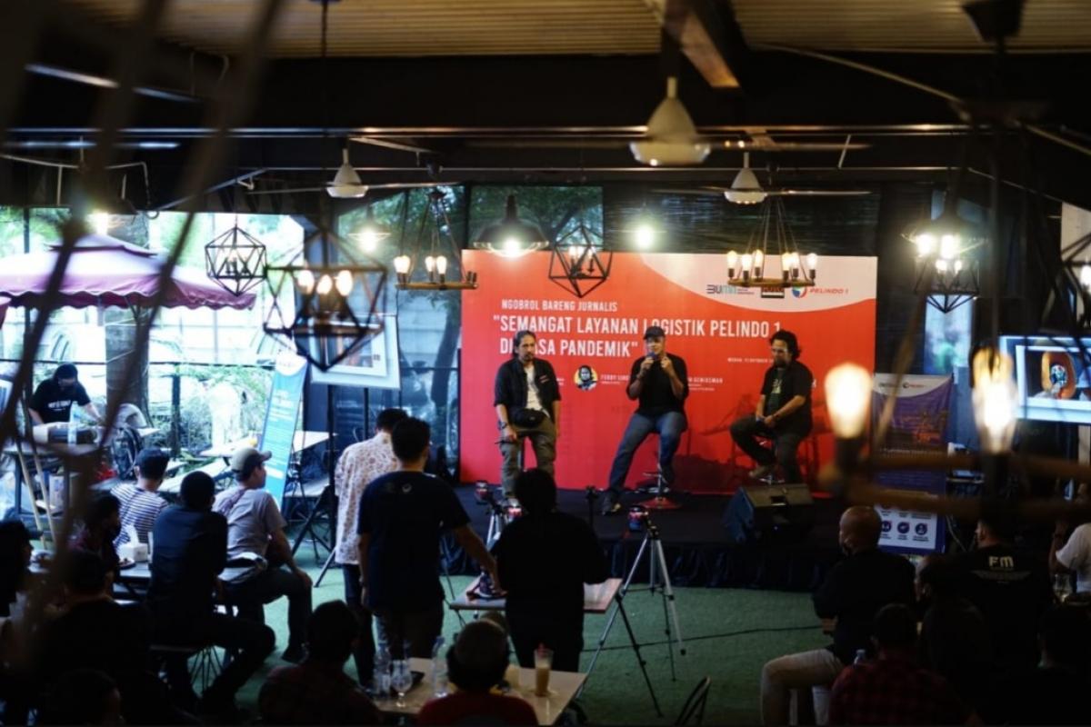 Pelindo I dan PFI Medan Selenggarakan Kegiatan Ngobrol Bareng Jurnalis