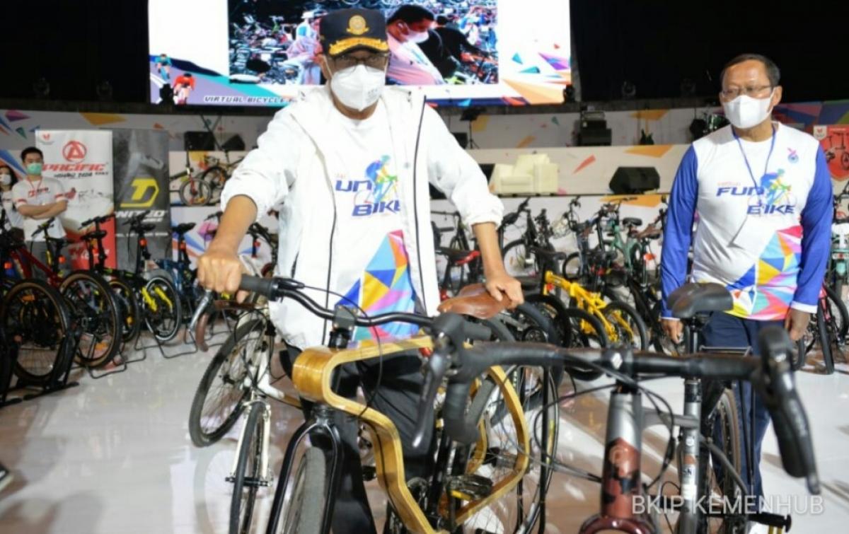 4.000 Pesepeda Ikuti Virtual Fun Bike