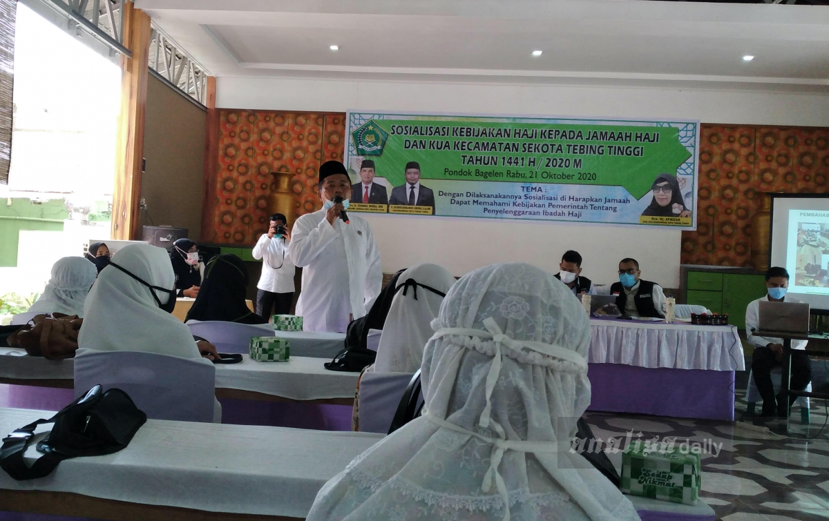 Kemenag Tebingtinggi Sosialisasi Kebijakan Haji