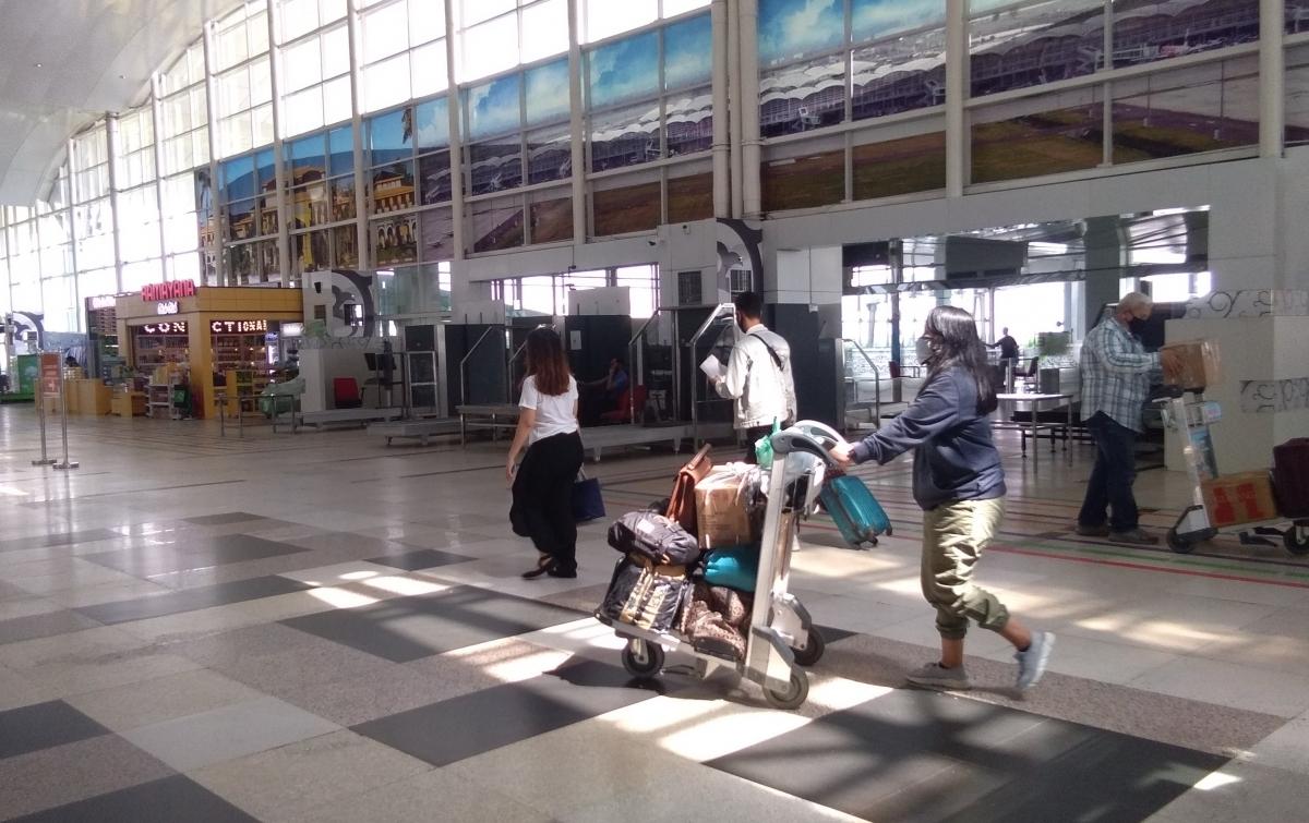 Penumpang Pesawat di Bandara Kualanamu Meningkat