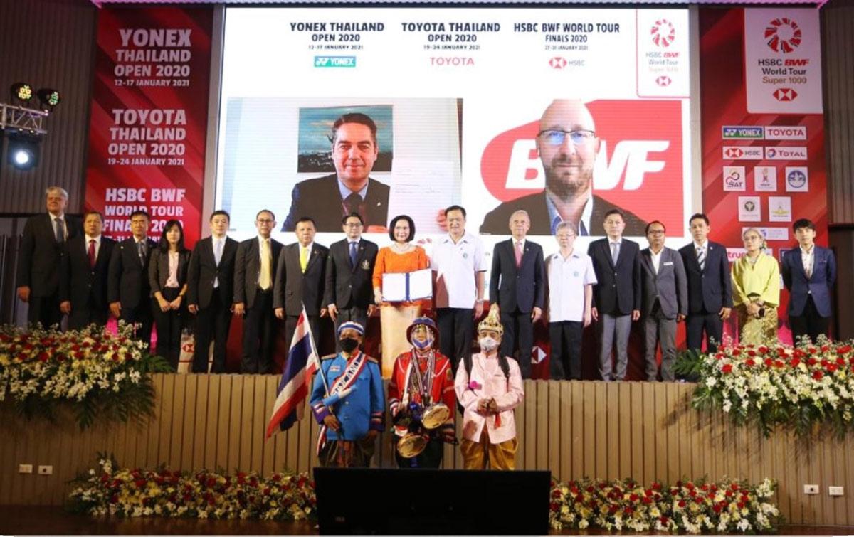 Thailand Siap Gelar Tiga Turnamen Bulu Tangkis Bergengsi