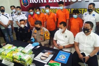 Polisi Gagalkan Peredaran 18 Kg Sabu, Satu Tersangka Ditembak Mati