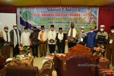 Ahmad Ghazali Kembali Pimpin MUI Tapsel