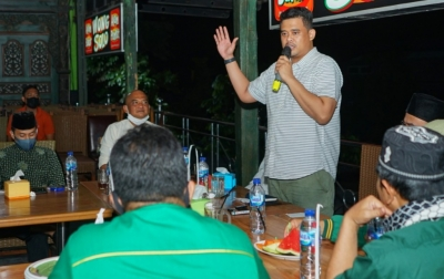 Bobby Nasution Ajak Kader PBB Hempang Isu dan Fitnah