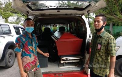 Jenazah Ernawati Sudah Dipulangkan ke Kalimantan Barat