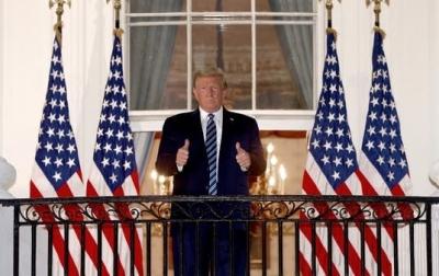 Trump Tampil Publik Perdana Sejak Positif Covid-19