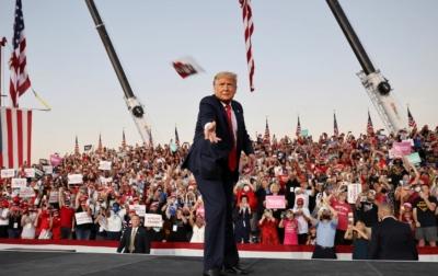Sembuh dari Covid-19, Donal Trump Kembali Kampanye