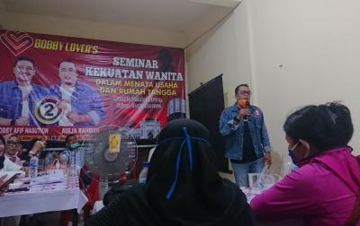 Sapa Peserta Pelatihan, Aulia Berharap Tumbuhnya Pelaku UMKM Baru di Kota Medan