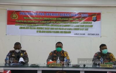 Polresta Deliserdang Akan Gelar Operasi Zebra Toba 14 Hari