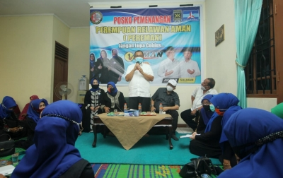 Akhyar Nasution: Emak-emak Medan Cerdas Berpolitik