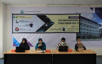 Politeknik Medan Gelar Safety Riding Education