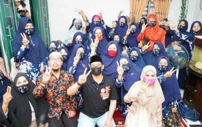 Ingin Putus Rantai Korupsi, Kaum Ibu Perwiritan Punya Harapan Besar ke Bobby-Aulia