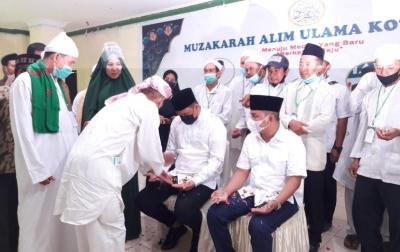 Bobby Nasution Terima Dukungan dari Alim Ulama