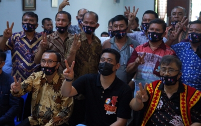 Dukungan Masyarakat Nias di Kota Medan untuk Bobby-Aulia