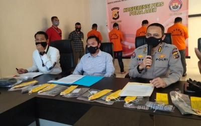 Polda Aceh Ungkap Penyelundupan Etnis Rohingya, 4 Pelaku Ditangkap