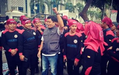 FSPMI Sumut Kembali Aksi Protes Omnibus Law dan Upah Tidak Naik
