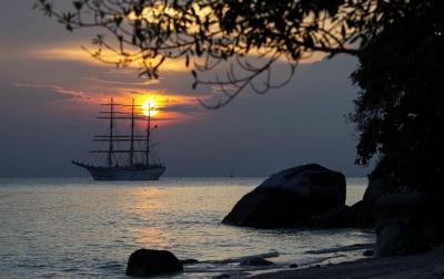 Foto: Misi KRI Bima Suci di Pulau Berhala
