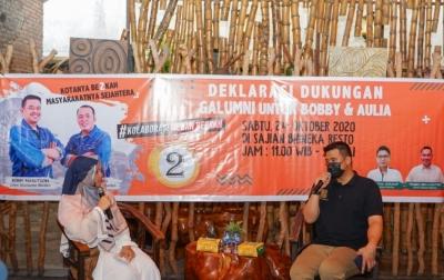 Asa Galumni Untuk Bobby Nasution: Jadilah Solusi Masalah Medan