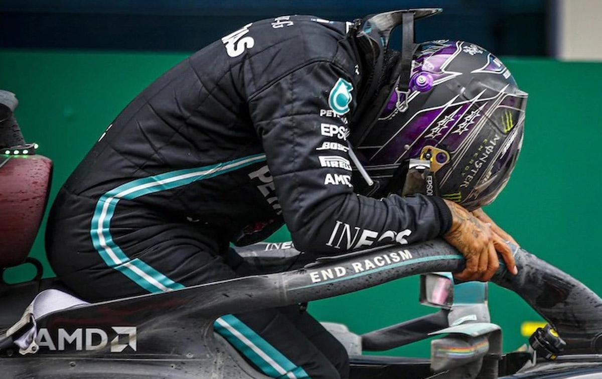 Raih 7 Gelar Juara Dunia, Hamilton Samai Rekor Schumacher