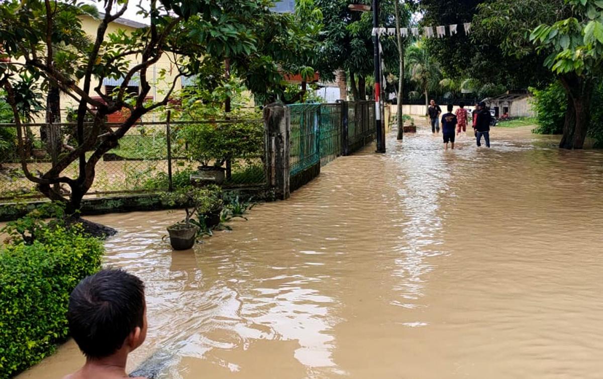 Banjir di Tebingtinggi Rendam 5 Kecamatan dan 13 Kelurahan
