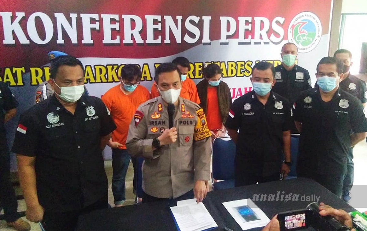 Penyalahgunaan Narkoba, Anggota DPRD Labura Ditangkap Polisi