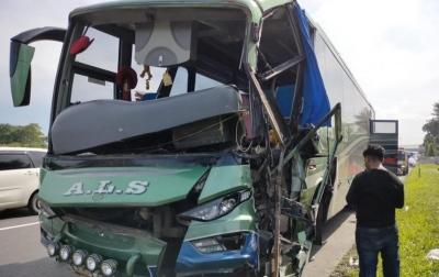 Kecelakaan Beruntun Terjadi di Jalan Tol Tanjung Morawa