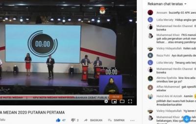 Akhyar-Salman Trending di Komentar YouTube, di Fanspage KPU Tuai Dukungan