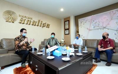 Wakil Menteri Perdagangan Berkunjung ke Kantor Analisa