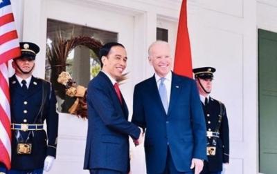 Jokowi Sampaikan Selamat Kepada Joe Biden dan Kamala Harris