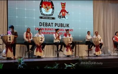 KPU Karo Gelar Debat Publik Perdana Pilkada 2020