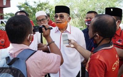 Anton Komitmen Tingkatkan Infrastruktur Simalungun