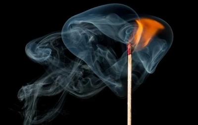 Seorang Pria di Helvetia Dibakar Orang Tak Dikenal