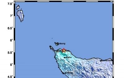 Gempa Bumi di Aceh Tidak Berpotensi Tsunami
