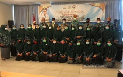 Nova Iriansyah Sampai 3 Pesan Kepada Kafilah Aceh