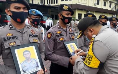 8 Personel Polrestabes Medan Dipecat dengan Tidak Hormat