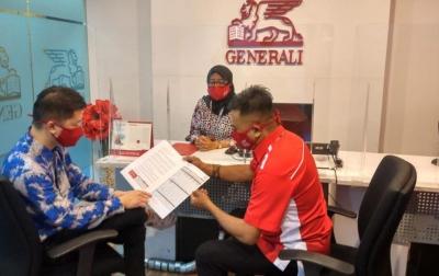 Generali Bayarkan Klaim Kesehatan Nasabah di Medan