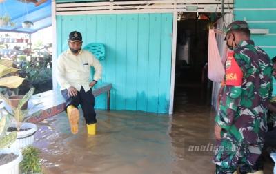 150 Kepala Keluarga di Sosa Terkena Banjir