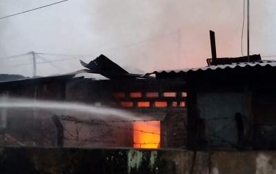 Belasan Rumah di Komplek Brimob Terbakar, Tidak Ada Korban Jiwa