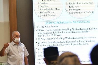 Sejuta Siswa Aceh Pakai Masker Serentak 2 Desember