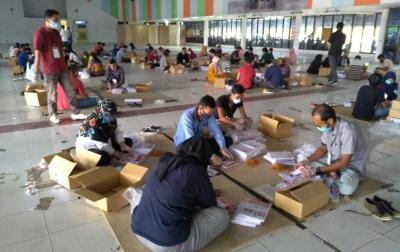 3.388 Surat Suara Pilkada Medan Ditemukan Rusak