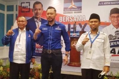 AHY Optimis Akhyar-Salman Menangkan Pilkada Medan