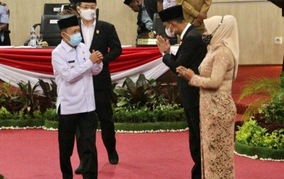 Haris Kelana Jadi Anggota DPRD PAW Gantikan Aulia Rachman