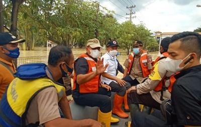 Tinjau Banjir di Tebingtinggi, Gubsu Ingatkan Warga 3M