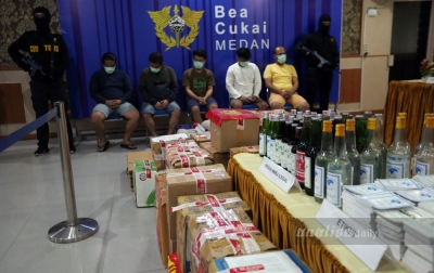 Bea Cukai Medan Tindak 86 Kasus Sepanjang Pandemi Covid-19