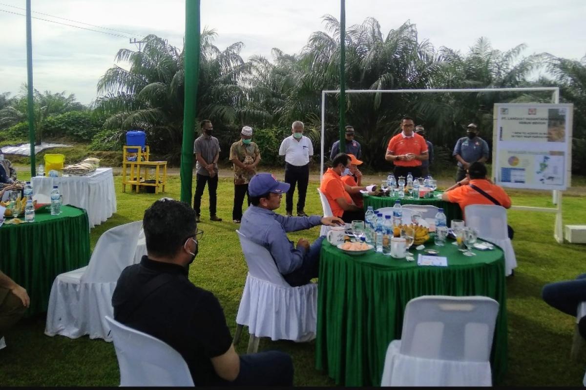 Tingkatkan Hubungan Kerjasama, Direktur PTPN II Kunjungi PT LNK