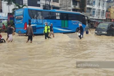 Atasi Banjir Medan, Perlu Kerjasama Antar Daerah