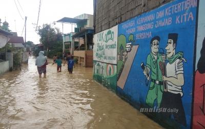 Warga Kota Medan Diingatkan Waspada Banjir