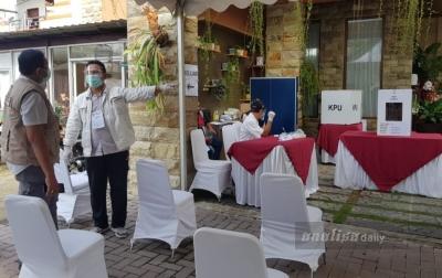 Protokol Kesehatan Ketat Diterapkan di TPS Bobby Nasution