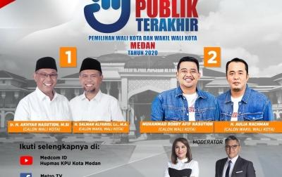 Hitung Cepat Pilkada Medan dari 3 Lembaga Survei