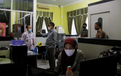 Wabup Darma Wijaya Sidak Sejumlah Kantor OPD Pemkab Sergai